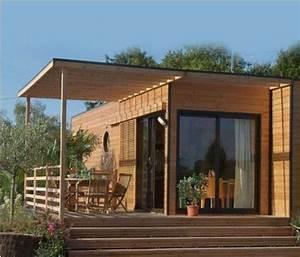 Maison Modulaire Bois : maison modulaire bois maison modulable et cologique ginkgo ~ Melissatoandfro.com Idées de Décoration