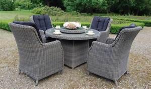 Table De Jardin Tressé : table de jardin ronde double plateau en rsine tresse haut ~ Dailycaller-alerts.com Idées de Décoration