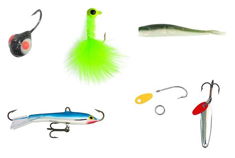 top  crappie ice fishing lures  jigs
