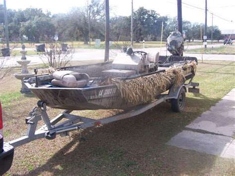 Gator Tail Boat Blind by 2006 Gator Tail Duck Boat For Sale In Houma Louisiana