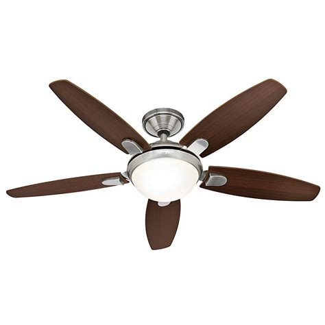 Contempo 52 Ceiling Fan 59013 ceiling fans contempo 52 in brushed nickel indoor