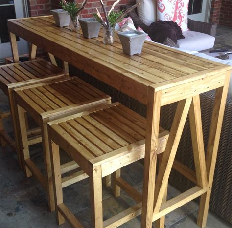 Diy Bar Furniture by White Sutton Custom Outdoor Bar Stools Diy Projects