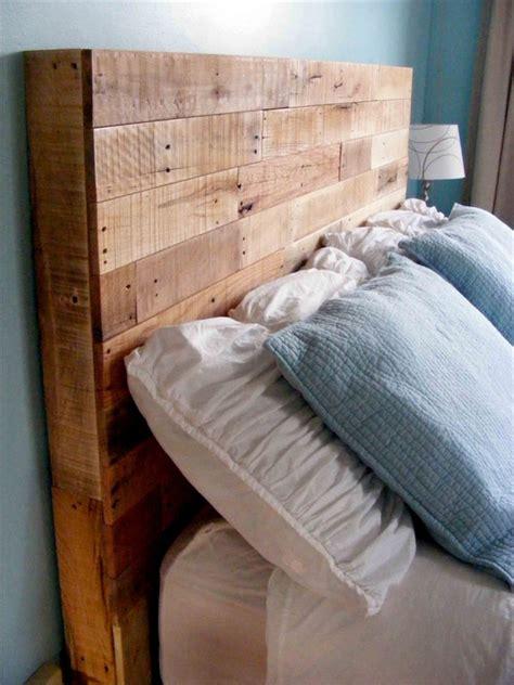 diy reclaimed wooden pallet headboard pallet furniture plans