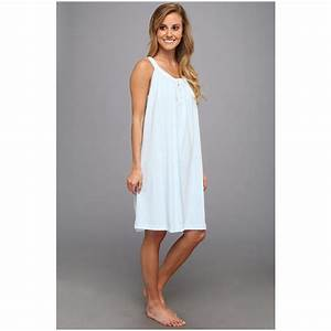 Carole Hochman Women's Solid Short Nightgown | Clothdresses
