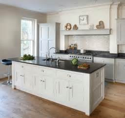 shaker kitchen island esher grey shaker kitchen transitional kitchen by brayer design