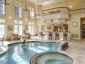 Your Thoughts On This Indoor Pool And Hot Tub In A Home In