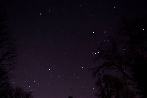 night sky looking towards Orion | Clear night at my parent ...