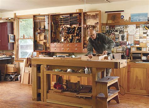 shop space finewoodworking
