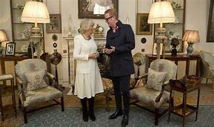 Chris Evans visits Duchess of Cornwall after her support ...