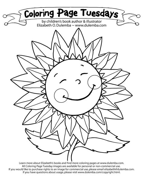 june coloring pages    print