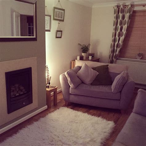 Dulux Overtly Olive Living Room Green Cosy Homely Next