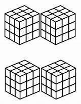 Rubiks Rubik sketch template