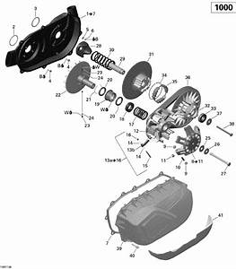 Commander Cvt Parts Drawing