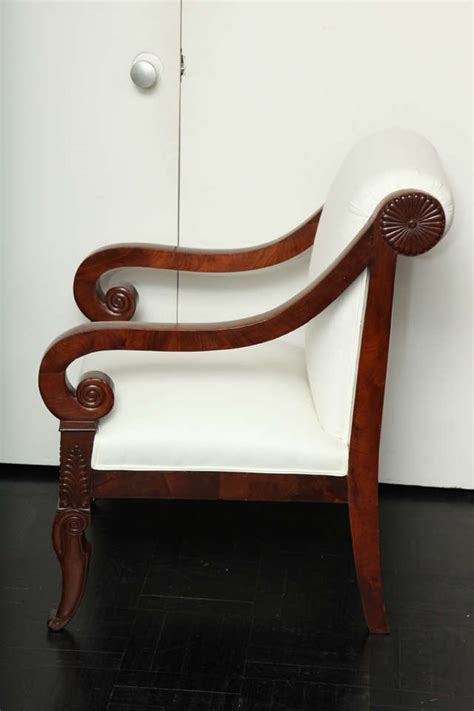 restauration fauteuil louis xv 19th century mahogany restauration fauteuil at 1stdibs