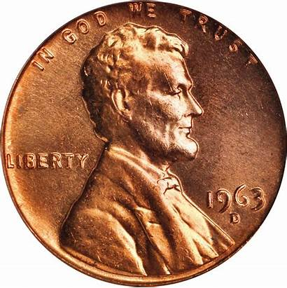 1963 Value Lincoln Cent Memorial Cents Coins