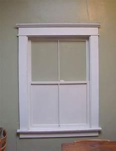 Interior window trim ideas craftsman style window trim for Images of window trim molding ideas