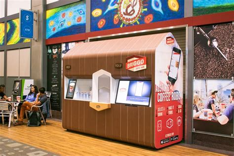Brewed coffee takes 15 to 30 seconds per as for nater, he's fired up about the robot and the drinks, but he's also eager for briggo's next step in. Get ready for more robot-made coffee: Austin's Briggo set for expansion into dozens of airports ...