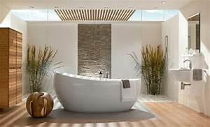 comment creer une salle de bain zen With salle de bain design avec idée décoration mariage pas cher