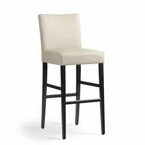 Tabouret De Bar 4 Pieds : tabouret de bar en bois et tissu shawn mobitec 4 pieds tables chaises et tabourets ~ Teatrodelosmanantiales.com Idées de Décoration
