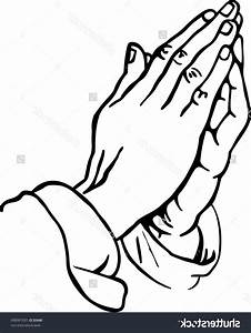 Unique Praying Hands Drawing Vector Drawing » Free Vector ...