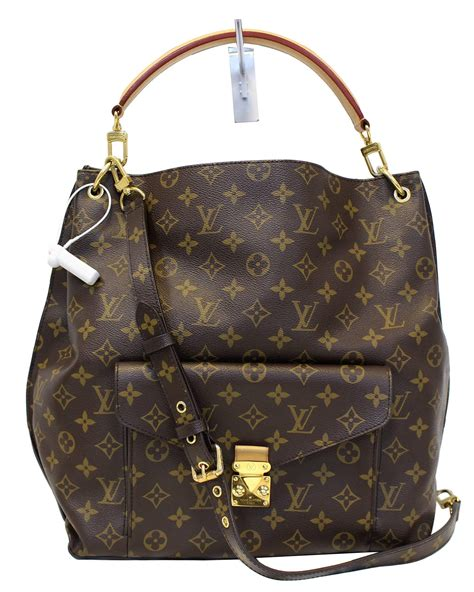 louis vuitton monogram canvas metis hobo shoulder bag