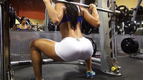 Big Booty Exercises At Gym by Big Butt Building And Lifting Gym Workout Youtube