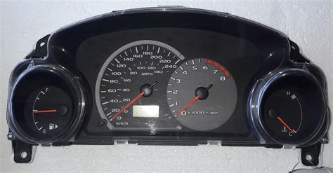 2003 Mitsubishi Eclipse Dashboard by 2003 Mitsubishi Eclipse Used Dashboard Instrument Cluster