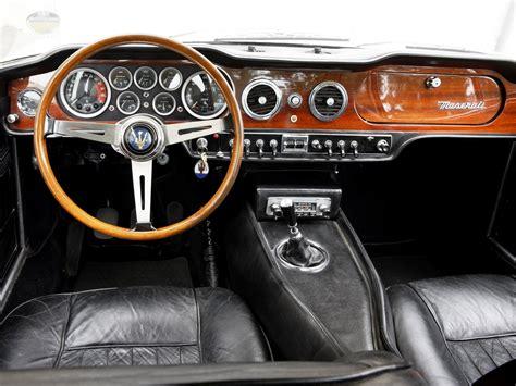 maserati models interior 1966 maserati mexico