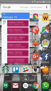 Home screen layouts and how to theme them