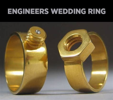 engineers wedding ring funny picture