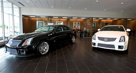 Cadillac Shows Off New Look For Showrooms Autoblog