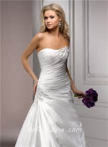 strapless a line wedding dresses fitted a line strapless corset back ruched organza wedding dress with applique