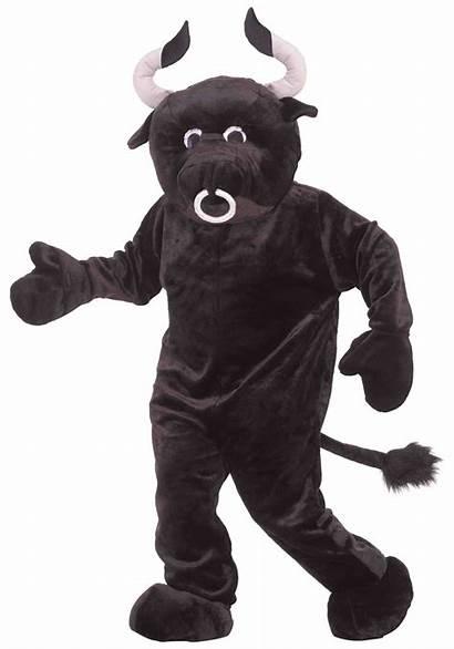 Mascot Bull Costume Halloween Adult Costumes Suit