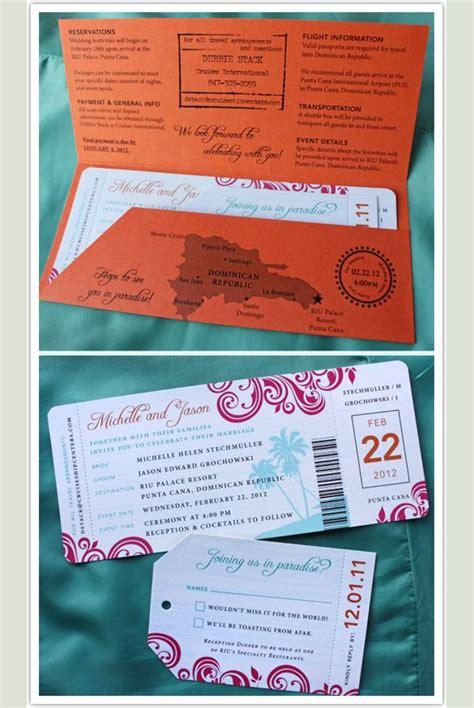 boarding pass invitation templates destination