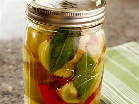 pickled green tomatoes recipe michael symon food network