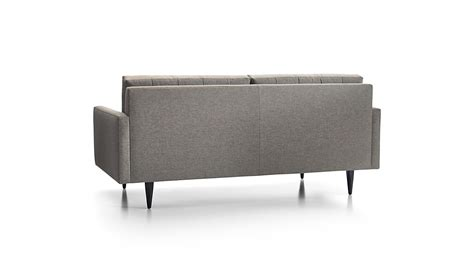 Petrie Apartment Sofa by Petrie Modern Tufted Sofa Crate And Barrel