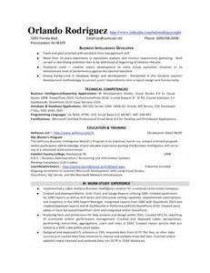 sql skills in resume bi developer resume