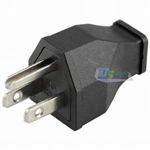 Premium Ac 125v 15a 3 Pin Male Power Cord Connector Us