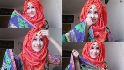requested hijab tutorial  saree hijab style
