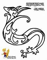 Pokemon Coloring Pages Serperior Sheets Gudetama Speed Yescoloring Fastest Victini Dynamic Template Printable Boys Sharp Swoobat Druddigon Besoek Printables Super sketch template