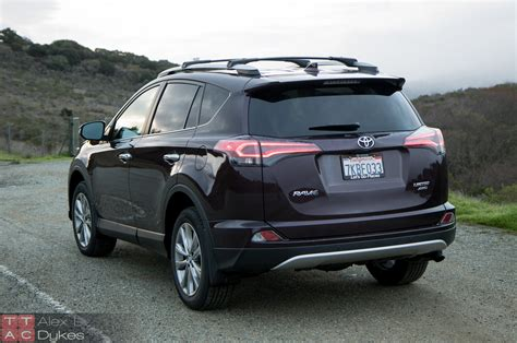 Rav 4 Toyota 2016 2016 toyota rav4 limited exterior the about cars