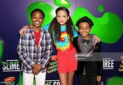 Dallas Young, Scarlet Spencer and Micah Abbey attend the ...
