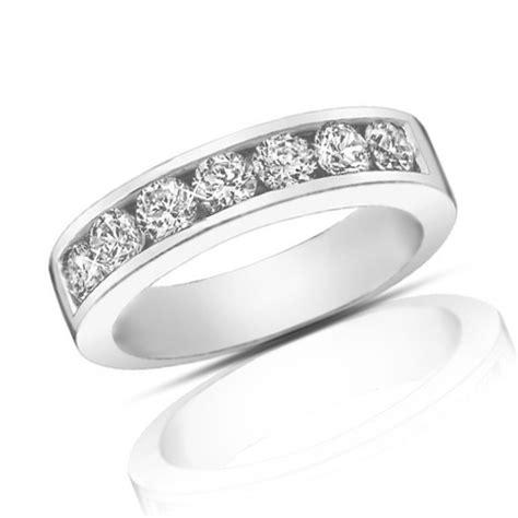 ct  cut diamond wedding band ring  channel setting