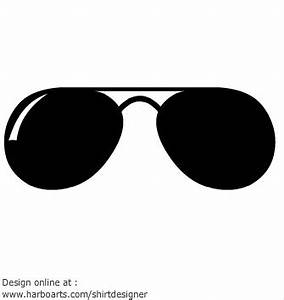 Vector - aviator sunglasses clipart