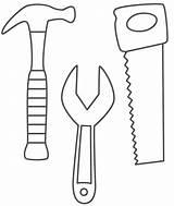 Coloring Belt Tool Construction Tools sketch template