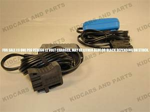 Peg Perego 12 Volt Battery Charger Mecb0034   Brand New