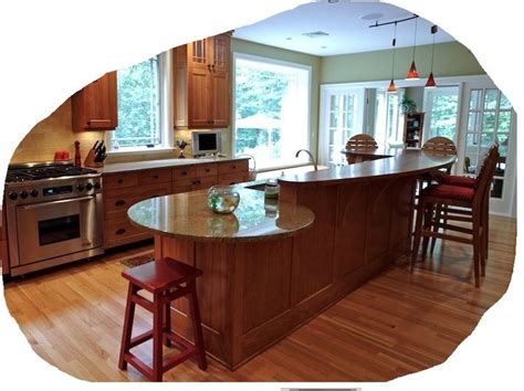 kitchen with island and peninsula peninsula kitchen layout kitchen peninsula with rounded end google search kitchen design