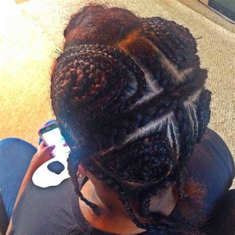Sew In Hairstyles With Braids by 4 Way Vixen Sew In Braid Pattern Search Hair