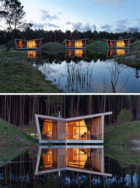 Moderne Häuser Frankreich by In Der Nacht Jede Villa Dieses Eco Resort In Frankreich