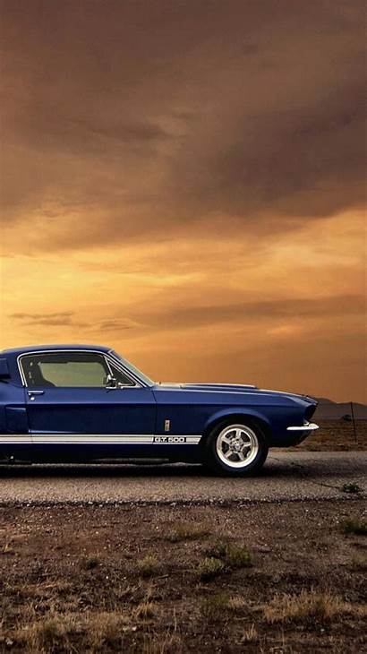 Muscle American Mustang Cars Ford Shelby Gt500